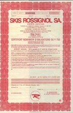 Skis Rossignol SA Voiron France - Ski & Snowboard Makers