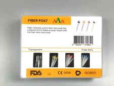 Dental Glass Fiber Resin Post High-intensity Φ1.0-1.6mm Drills Endodontic 1 BOX