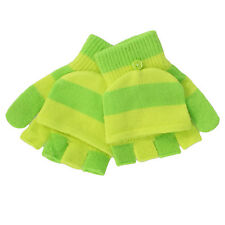 SO Convertible Mittens Fingerless Gloves for Girls - Winter - One Size