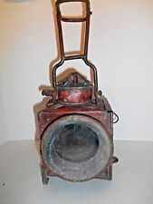 Rare Antique Train /Rail Road Carriage Style Oil Lamp