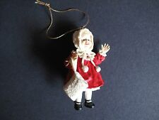 Ashton Drake YOLANDA BELLO DOLLS Porcelain Christmas Ornament Jennifer