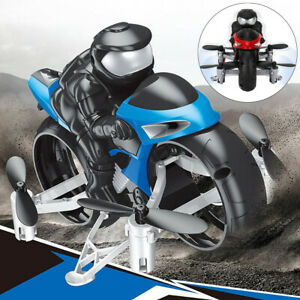 2.4GHz 4CH Motorcycle Headless Remote Control Four-Axis Drone For Kids Toys
