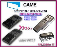 Came TWIN2 / Came TWIN4 compatibile radiocomando telecomando, 433,92MHz clone
