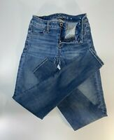 AMERICAN EAGLE Ne(x)t Level Stretch JEGGING Jeans size 0, pre-owned