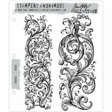 Tim Holtz Cling Stamps - Baroque - NEW!