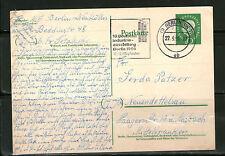Berlin Ganzsache gelaufen BERLIN SW NEUENDETTELSAU 1959 Postkarte Sonderstempel