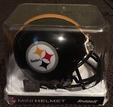 7958f064ec3 PITTSBURGH STEELERS RIDDELL MINI REPLICA NFL FOOTBALL HELMET BRAND NEW