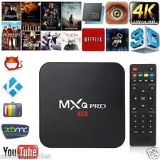 2017 MXQ PRO Android 6.0 TV Box Faster Quad Core ARMv7 rev5 XBMC 4K Wifi KODI 16