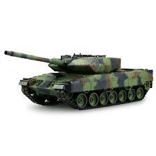 Heng Long 1:16 RC Panzer Leopard 2 A6 2,4 GHz Metallgetriebe Rauch Sound Schuss