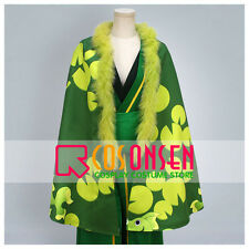 One Piece Roronoa Zoro Cosplay Costume Kimono Robe Cosonsen All Sizes