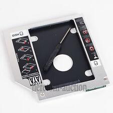 2nd SATA Hard Drive HDD SSD Caddy For HP EliteBook 8460w 8560w 8570w 8760w 8770w