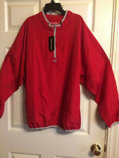 Easton Mens Red M5 Long Sleeve Breathable Cage Jacket Size L