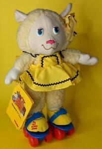 "vintage Woolma Lamb 12"" plush doll with tag 1984 TOMY Get Along Gang"
