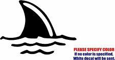 "Shark Fin #07 Graphic Die Cut decal sticker Car Truck Boat Window Bumper 12"""