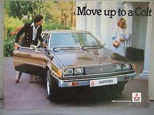 Mitsubishi Colt Sapporo - Colour Brochure 1980