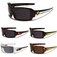 Khan Large Oversized Men's Sport Cycling Biker Ski Wrap Around Sunglasses Big
