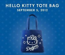 Hello Kitty Dodgers Tote Bag GREAT GIFT ITEM * Dodger Stadium Exclusive 2012 SGA
