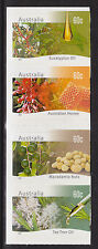 2011 Farming Australia Native Plants - Strip of 4 Booklet Stamps