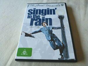 Singin' in th Rain (DVD, 2009) Region 4 Gene Kelly, Donald O'Connor