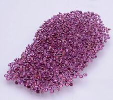 ONE - 8 mm ALEXANDRITE Russian Sim Diamond BRILLIANT CUT 2 ct greenish purple