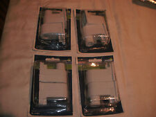 4 pair Leviton C20-13485-000 Double Recessed Fluorescent Lamp Holder