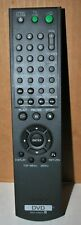 SONY DVD RMT-D165A REMOTE CONTROL TESTED