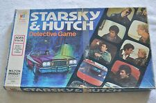 Vintage UNUSED 1977 Starsky & Hutch Detective Board Game Unpunched Complete (#5)