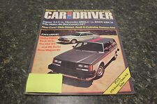CAR AND DRIVER NEW CARS! OLDS DIESEL, AUDI 5-CYLINDER, DATSUN 510 DECEMBER 1977