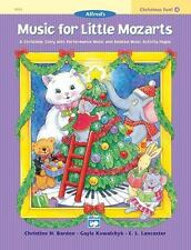 Alfred's Music for Little Mozarts - Christmas Fun! - Book 4