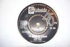 GENE PITNEY,  I'M GONNA BE STRONG,  STATESIDE  RECORDS 1963  EX/EX+