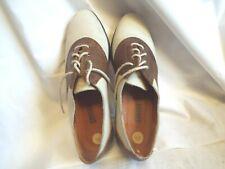 Vintage Cougar Saddle Shoes Size 8.5 Made In Brazil