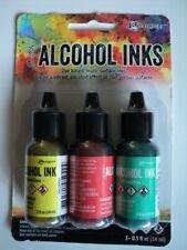 TIM HOLTZ Adirondack Alcohol Ink 3 Pk 'KEY WEST' BNIP **LOOK**
