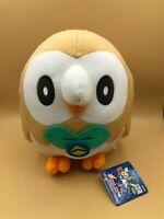 The Pokemon Company Rowlet Banpresto Plush Soft Stuffed Toy Animal Doll Nintendo