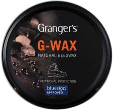 Leather Shoe Boot G Wax 80g Waterproofer Grangers Proofer Beeswax Polish Dubbing