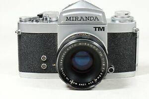Miranda TM with 50mm f1.8 Lens M42 Mount!!!Rare!!