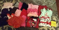 Girls Clothes 3-6 Month - Fall/Winter - Mixed Lot of 20 Pieces #170