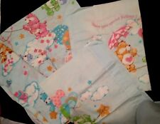 CARE BEAR SHEETS VINTAGE 80s FULL SIZE WITH PILLOWCASES