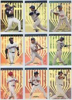 1995 Leaf Limited Gold Insert You Pick the Card / Player Finish Your Set