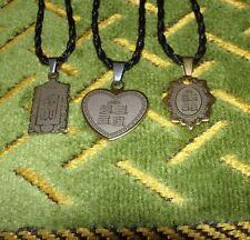 Quran Surah 4 Qul Ikhlas Flaq An-Nas Kafiroon Pendants Necklace Charm Muslim Tag