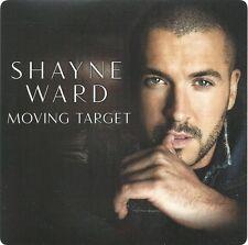 SHAYNE WARD Moving Target 2015 UK 2-trk promo CD