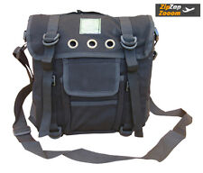 Mens Army Combat Military Day Shoulder Man Bag Surplus Pack Messenger Black New