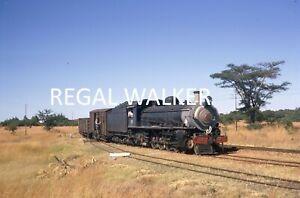 ORIGINAL 35MM NZR ZIMBABWE RAILWAY SLIDE LOCO 12TH CLASS 250 GUINEA FOWL 1970