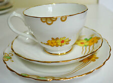 Lovely Ravensdale Floral Tea Cup, Saucer & Plate Trio, Made in England