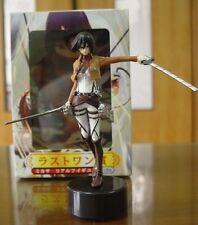 Anime Attack On Titan Shingeki no Kyojin Aren Mikasa Ackerman figure Toy Gift