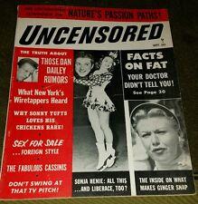 UNCENSORED Magazine; September 1955; Vol 3, No 4