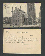 1910s GAND Le Mammelokker et la Halle aux Draps BELGIUM POSTCARD