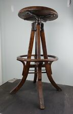 Antique Adjustable Architect or Drafting Stool - circa early 1900s