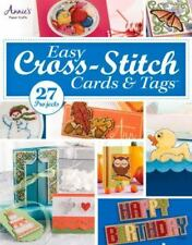 Easy Cross-Stitch Cards & Tags by Annie's, Good Book