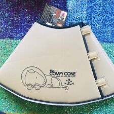 The Comfy Cone Pet Recovery Collar All Four Paws Extra Large Tan 30 cm Size XL !