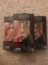 "?THREE BATTLE DROID #83 Star Wars Black Series 6"" AF Star Wars Clone Wars?TRUST"
